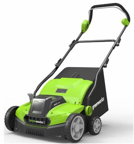 Аэратор-скарификатор электрический Greenworks , 1600W (36 см)